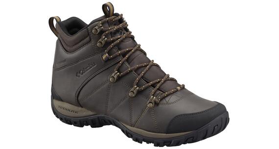 Columbia Peakfreak Venture Schoenen Heren Mid WP Omni-HEAT bruin